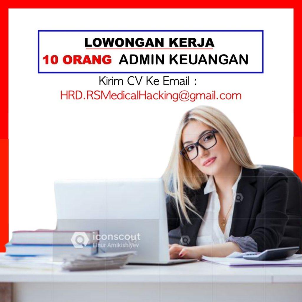 loker admin keuangan medical hacking